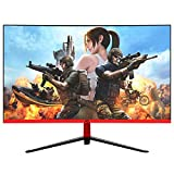 "Monitor Gamer LED 27"" Curvo 1ms 165hz Display Port HDMI USB 27HQ-LED RGB R3000 Bordas ultra finas HQ271M165HC Preto"