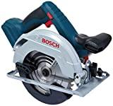 Bosch 06016A22E0-000, Serra circular a Bateria de 18V, Azul