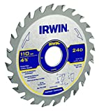IRWIN Lâmina de Serra Circular para Madeira 350mm 24 Dentes IW14311