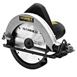 Serra Circular Hammer 100% Rolamentada 1100w Preto 220V - GYSC1100_220