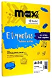 Etiqueta Para Impressora A Laser Com 100 Folhas 26,0X15,0 494408 - Maxprint