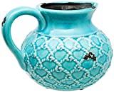 Vaso em Cerâmica No Brand Azul