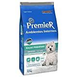 Ração Premier Ambientes Internos para Cães Adultos Sabor Frango e Salmão, 12kg Premier Pet Raça Adulto,