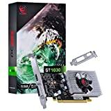 PLACA DE VIDEO PCYes NVIDIA GEFORCE GT 1030 2GB GDDR5 64 BITS COM KIT LOW PROFILE SINGLE FAN - PP10302048DR564
