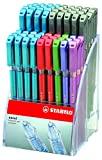 Stabilo 114.3700 Caneta Esferográfica Excel 828, cores sortidas (72 unidades)