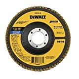 DEWALT Disco Flap Fibra DW8310-AR Amarelo Preto e Azul DW8310-AR