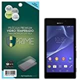 Pelicula de Vidro temperado 9h HPrime para Sony Xperia M2 Aqua, Hprime, Película Protetora de Tela para Celular, Transparente