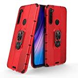 Capa Xiaomi Redmi Note 8 WB Liberty Apoio Imã Premium Antichoque Vermelha