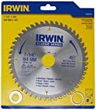 IRWIN 363017LA Lâmina de Serra Circular Multicorte 184 mm 48 Dentes Prata/Azul e Amarelo363017LA