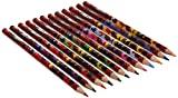 Zagtoon Lápis de Cor, pacote de 12, Multicolor
