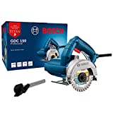Serra Mármore Bosch a seco GDC 150 TITAN 1500W 127V