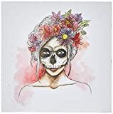 Arte Maníacos Quadro Decorativo tipo Placa Catrina Daphs - 46x32,5cm