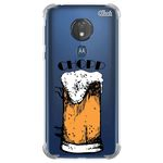 Capa Capinha Anti Shock Moto G7 Power Chopp 0807