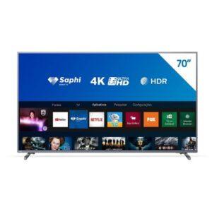 Smart Tv 70 Polegadas Philips 4K UHD 70PUG6774