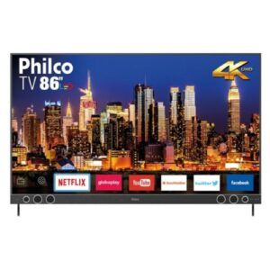 Smart Tv Phlico 86 Polegadas 4K Ultra HD PTV86P50SNSG