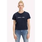 T-shirt Tommy Hilfiger Cropped Azul