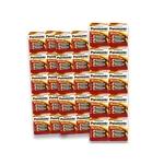 60 Pilhas Alcalinas PANASONIC AA (pequenas) - 3 cartelas c/20 unidades