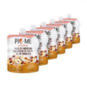 Kit com 6 Pasta de Amendoim Sal do Himalaia e Açúcar de Coco 200g - Pic-me
