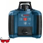 Nível à Laser Rotativo GRL 250HV Completo com Maleta e Controle BOSCH