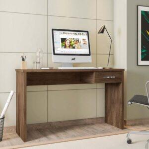 Escrivaninha para Estudos com 127cm de largura com gaveta Gávea - Móveis Leão
