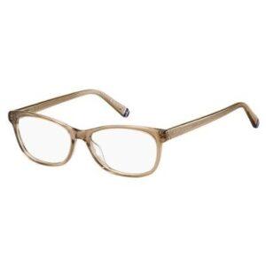 Armação de Óculos de Grau Tommy Hilfiger Th Feminino - Feminino-Bege