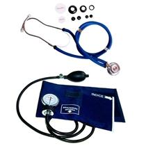 Kit Esfigmomanômetro + Estetoscópio Premium