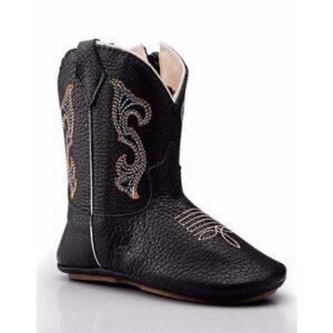Bota Texana Country Baby Capelli Boots Infantil - Masculino-Preto
