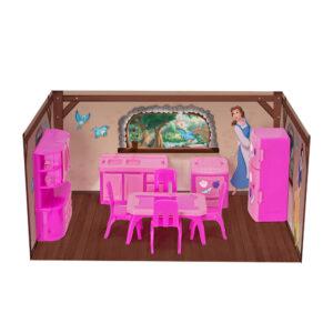 Playsaet e Acessórios de Boneca - Disney Princesas - Mini Cozinha - Mielle Brinquedos