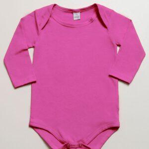 Body Básico Bebê Menina Inverno - Gueda - G
