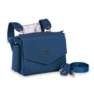 Bolsa de Maternidade - 45x30x15Cm - Mommy - Coleção Rose Gold - Azul Petróleo - MasterBag