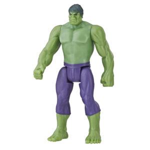 Boneco Articulado - 10 Cm - Disney - Marvel - Vingadores - Design Clássico - Hulk - Hasbro