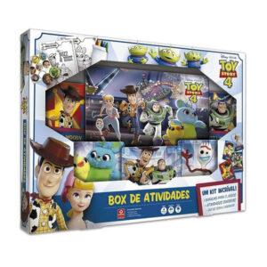 Conjunto de Jogos - Disney - Toy Story 4 - Box de Atividades - Copag
