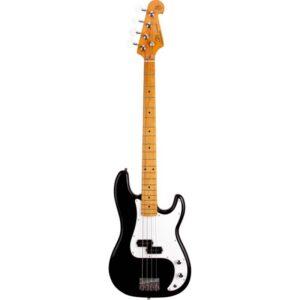 Contrabaixo Precision Bass Spb57/bk Tradicional Vintage Plus 4 Cordas