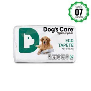 Eco Tapete Higiênico Grande Porte Dog's Care - 7 Unidades