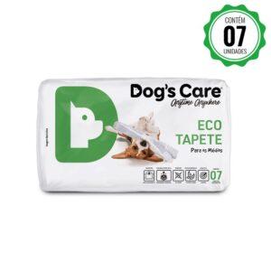 Eco Tapete Higiênico Médio Porte Dog's Care - 7 Unidades