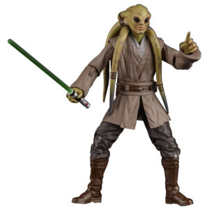 Figura Colecionável - 15 Cm - Disney - Star Wars - Black Séries - Kit Fisto - Hasbro