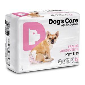 Fralda para cães Fêmea Dog's Care - PP - 12 Unidades