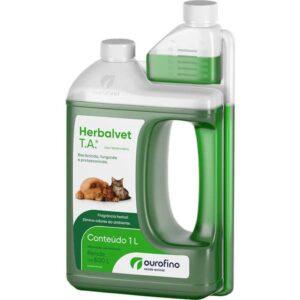 Herbalvet T.A  Desinfetante Bactericida Litro - Ouro Fino