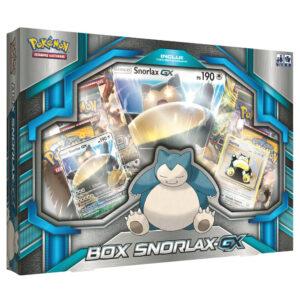 Jogo Pokémon - Box Snorlax GX - Copag