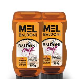 Kit 2 Mel Baldoni Chef Bisnaga 550g