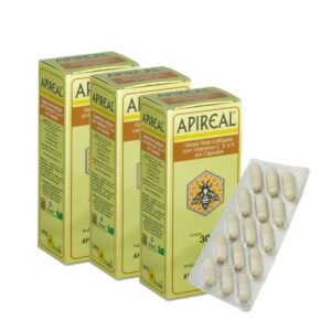 Kit 3 APIREAL - Geleia Real em Cápsulas