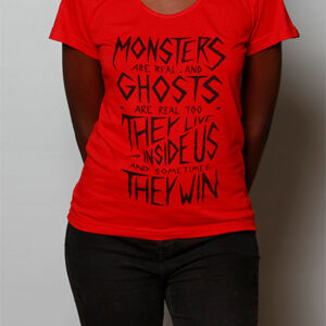 Camiseta Monsters & Ghosts