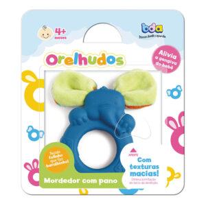 Mordedor com Tecido BDA - Orelhudos - Azul - Toyster