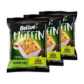 Muffin Coco e Chocolate 3x40g - Belive