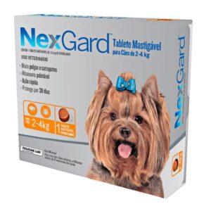 Nexgard Antipulgas e Carrapatos para Cães de 2 A 4 Kg