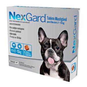 Nexgard Antipulgas e Carrapatos para Cães de 4 A 10 Kg