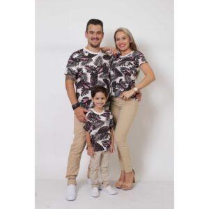 PAIS E FILHOS  Kit 3 Peças T-Shirt - Cancún [Coleção Família]