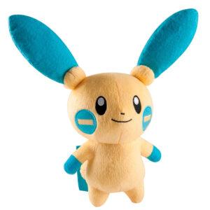 Pelúcia Pokémon Média - 16 Cm - Minun - Tomy
