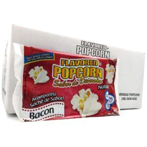 Pipoca Microondas Popcorn c/ sachê em 04 sabores. Caixa c/16 un - R$ 2,11 cada