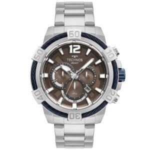 Relógio Masculino Technos Legacy Prata JS26AV/1M